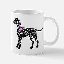 Dalmation Breast Cancer Suppo Mug