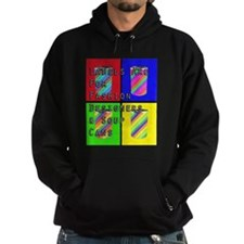 Labels Are For Fashion Designers Soup Cans Hoodie