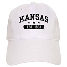 Kansas Est. 1861 Baseball Cap