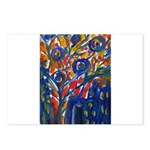 city life abstract Postcards (Package of 8)