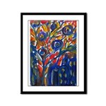 city life abstract Framed Panel Print