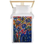 city life abstract Twin Duvet