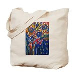 city life abstract Tote Bag