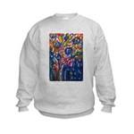 city life abstract Kids Sweatshirt