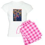 city life abstract Women's Light Pajamas
