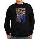 city life abstract Sweatshirt (dark)