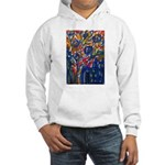 city life abstract Hooded Sweatshirt