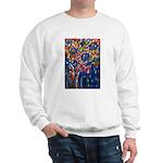city life abstract Sweatshirt