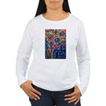 city life abstract Women's Long Sleeve T-Shirt