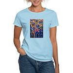 city life abstract Women's Light T-Shirt