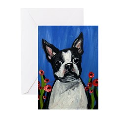Portrait of a Boston Greeting Cards (Pk of 20)