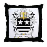 Van Duren Coat of Arms Throw Pillow