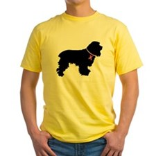 Cocker Spaniel Breast Cancer Support T