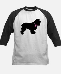 Cocker Spaniel Breast Cancer Support Tee