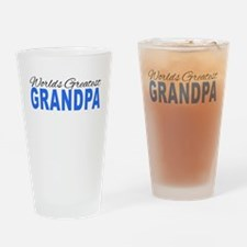 Worlds Greatest Grandpa Drinking Glass