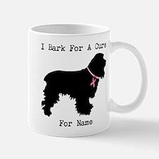 Cocker Spaniel Personalizable I Bark For A Cure Mu