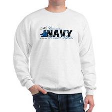 Grandson Combat Boots - NAVY Sweatshirt