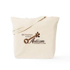 ESE Teachers Unlock Autism Tote Bag