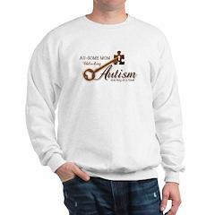 Au-some Mom Unlocking Autism Sweatshirt