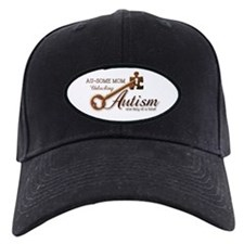 Au-some Mom Unlocking Autism Baseball Hat