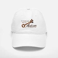 Au-some Mom Unlocking Autism Baseball Baseball Cap