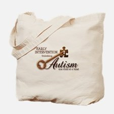 E.I. Unlocks Autism Tote Bag