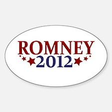 Romney 2012 Sticker (Oval)