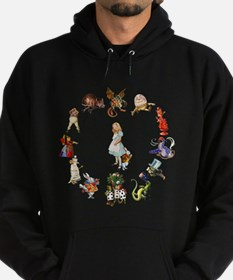 Alice Through The Looking Glass Hoodie (dark)