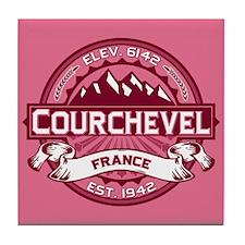 Courchevel Honeysuckle Tile Coaster