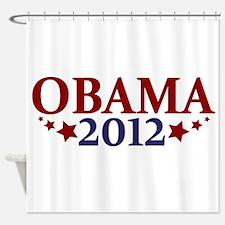 Obama 2012 Shower Curtain