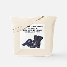 Army Wives Rare Breed  Tote Bag