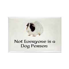 Not Everyone is a Dog Person Rectangle Magnet (100