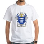 de Bruin Coat of Arms White T-Shirt