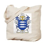 de Bruin Coat of Arms Tote Bag