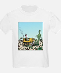 Cactus giving the Finger T-Shirt