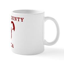 White Mug, Red Logo