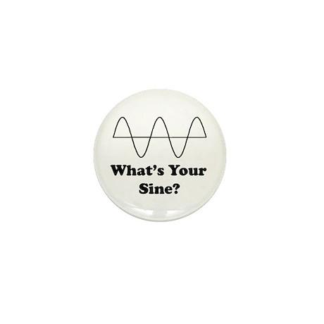 What's Your Sine? Mini Button