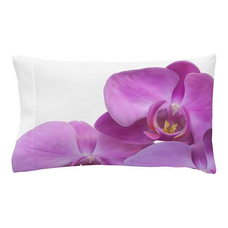 Purple Orchid Pillow Case