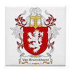 Van Bronckhorst Coat of Arms Tile Coaster