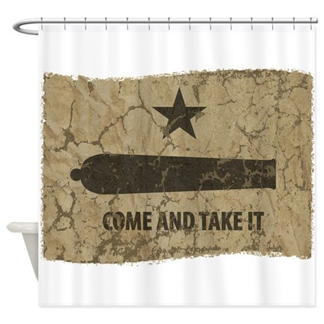 Come and Take It Shower Curtain