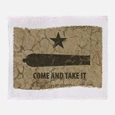 Come and Take It Throw Blanket