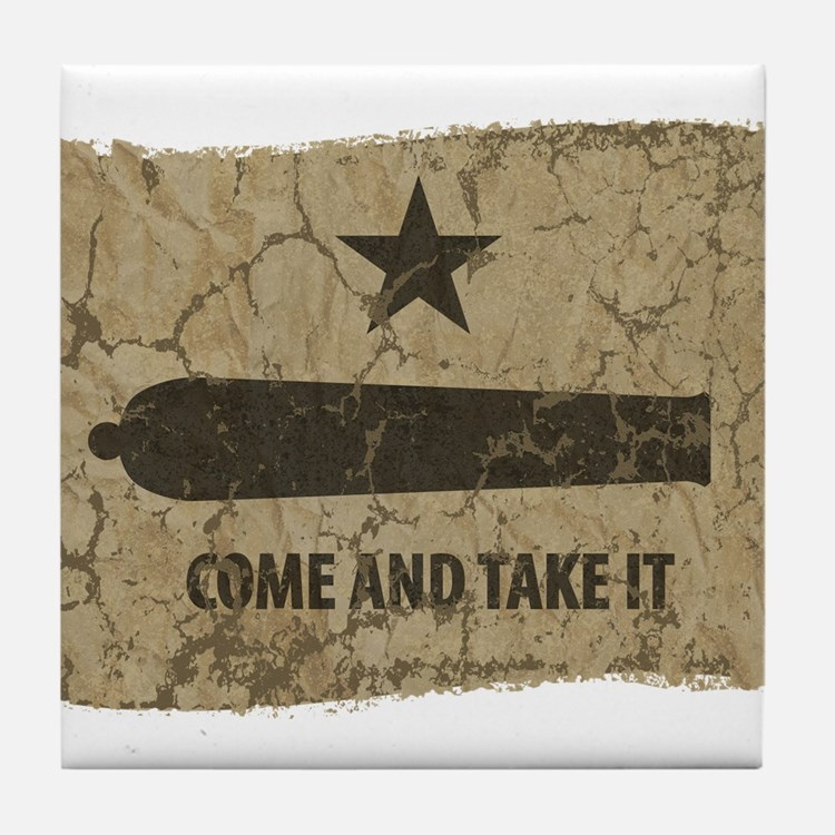 Come and Take It Tile Coaster