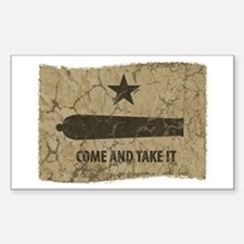 Come and Take It Sticker (Rectangle)