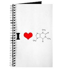 I Love Caffiene Journal