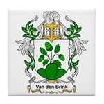 Van den Brink Coat of Arms Tile Coaster
