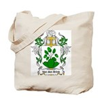 Van den Brink Coat of Arms Tote Bag