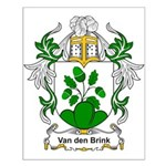 Van den Brink Coat of Arms Small Poster