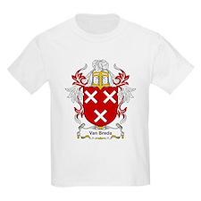 Van Breda Coat of Arms Kids T-Shirt