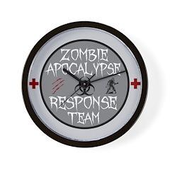 zombie apocalypse response team Wall Clock