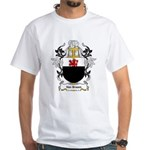 Van Braam Coat of Arms White T-Shirt